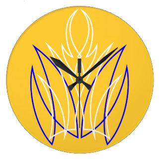 Pinstripe Wall Clock
