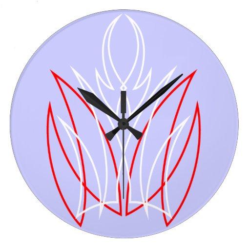 Pinstripe Wall Clocks