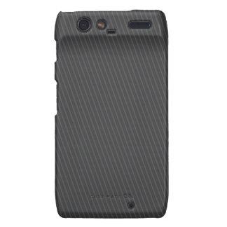 Pinstripe Grey Motorola Droid RAZR Cases