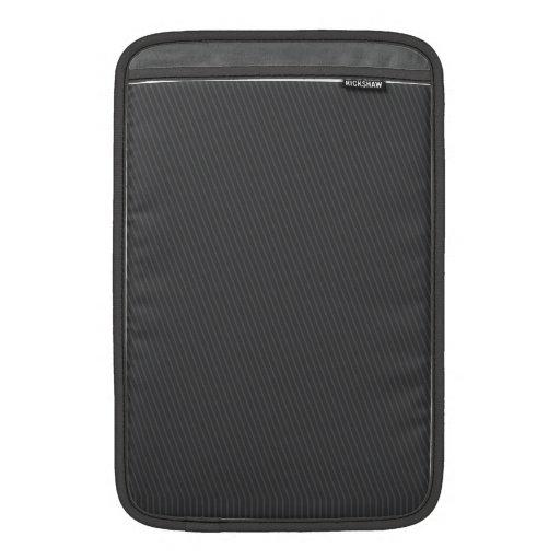 Pinstripe Grey Sleeve For MacBook Air