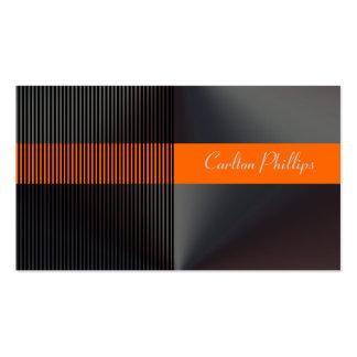 Pinstripe + musculin business cards