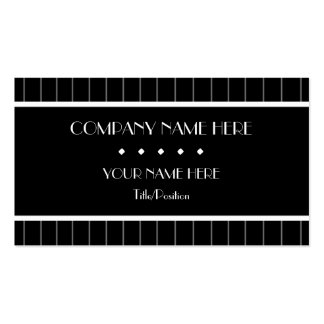 Pinstripes Business Card Template