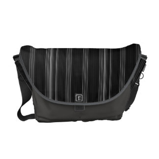 Pinstripes Messenger Bag