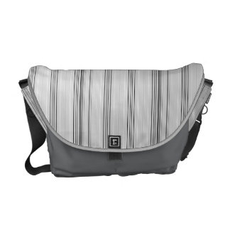 Pinstripes Courier Bag