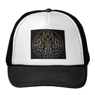 pinstriping circle hat