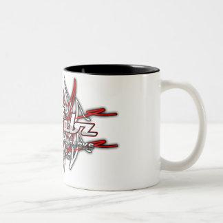 Pinstriping Logo 2 Two-Tone Mug