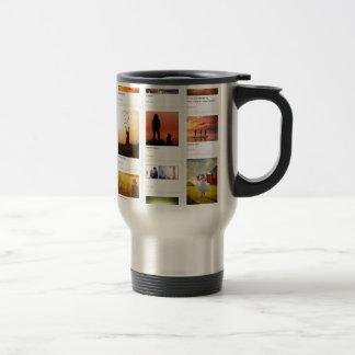 Pinterest Themed Coffee Mug