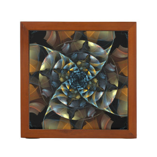 Pinwheel Abstract Art Desk Organiser