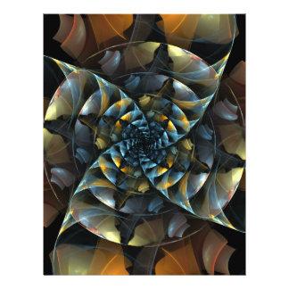 Pinwheel Abstract Art Flyer