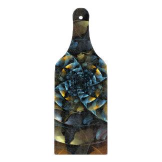 Pinwheel Abstract Art Paddle Cutting Board