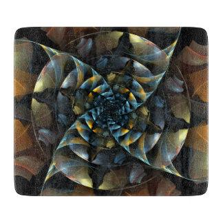 Pinwheel Abstract Art Rectangle Cutting Board