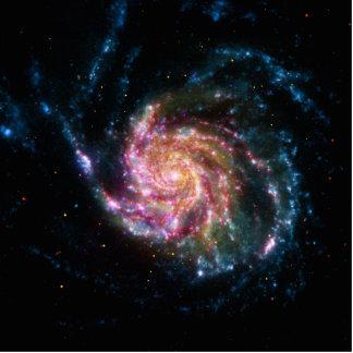 Pinwheel Galaxy Spiral Space Cut Out