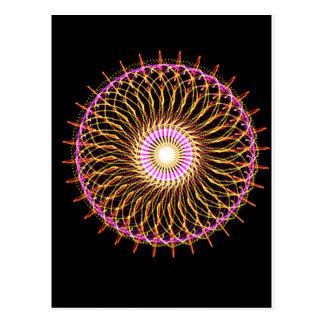 Pinwheel Postcard