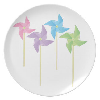 Pinwheels Plate
