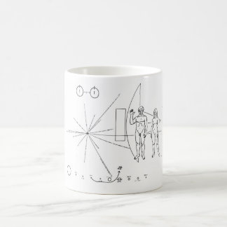 Pioneer Plaque Basic White Mug