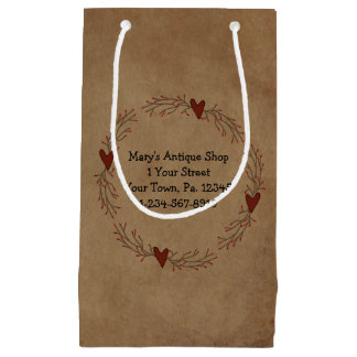 Pip Berry Heart Circle Gift Bag
