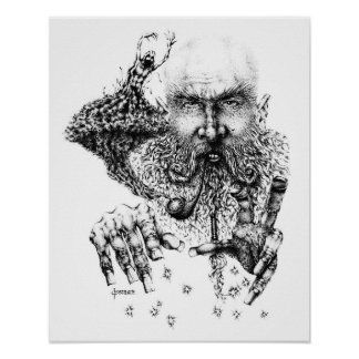Pipe Conjuring Print
