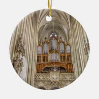 Pipe Organ Maria Am Gestade Christmas Ornament