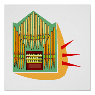 Pipe Organ Posters