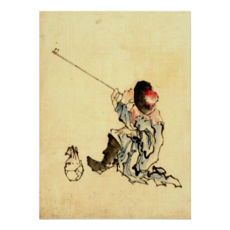 Pipe Smoker 1840 Poster