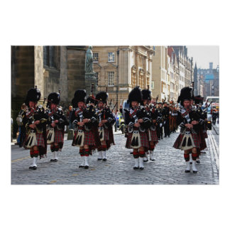 Pipes and Drums Print