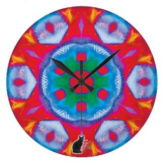 Pippin Kaleidoscope Large Clock