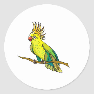 Pippin Parrot Classic Round Sticker