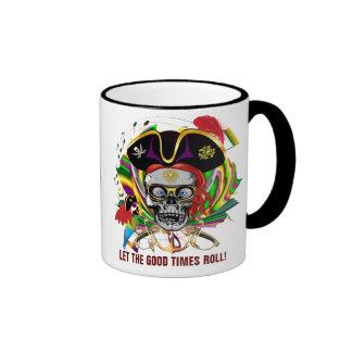 Pirate-2 Who Da King V-1 Theme Party Coffee Mug