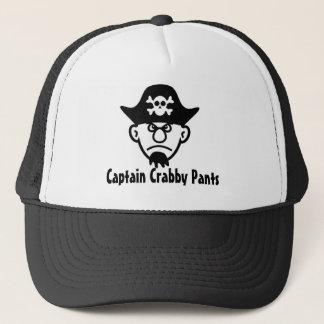 Pirate Captain Crabby Pants Trucker Hat