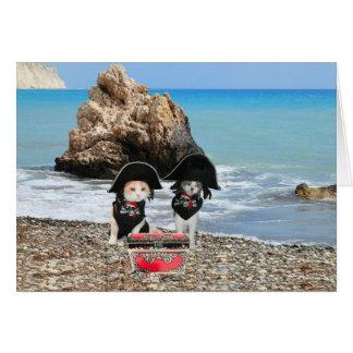 Pirate Cats Card