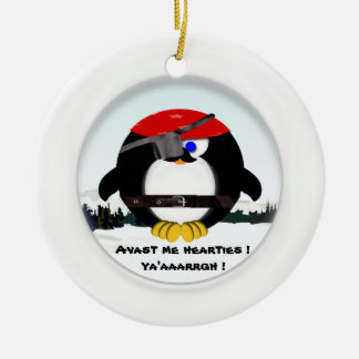 Pirate Christmas Tree Ornament