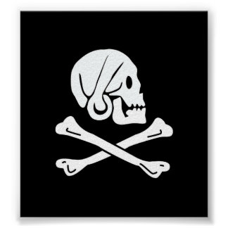 Pirate Flag - Jolly Roger Poster