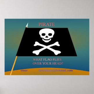 Pirate Flag (print)