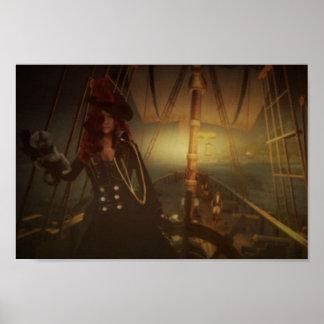 Pirate Girl Prints