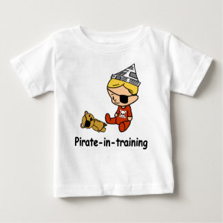 Pirate in Training baby t-shirt