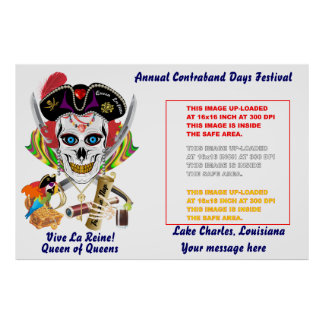 Pirate Queen Lafitte All Sizes View Hints Poster