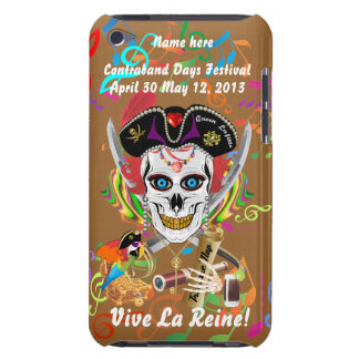 Pirate Queen Lafitte All Styles View Hints iPod Case-Mate Cases