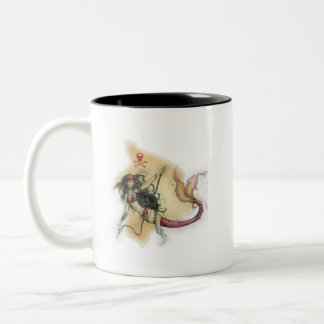 Pirate Queen of Kamuela Museum Two-Tone Mug