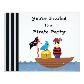 Pirate Ship Pirate Party Invitation