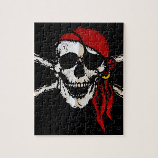 Pirate Skull And Crossbones Jigsaw Puzzle