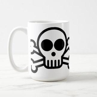 Pirate Skull & Crossbones Coffee Mug - 440ml