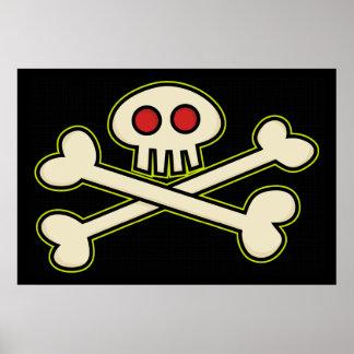 Pirate Symbol Poster