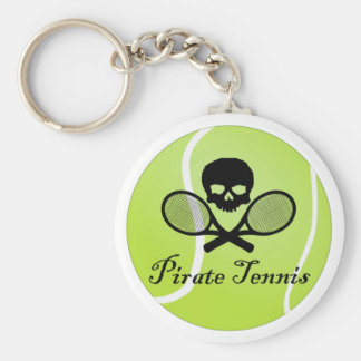 Pirate Tennis w/ Tennis Ball Key Ring