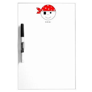 Pirate Yo-Ho-Ho! Dry Erase Boards