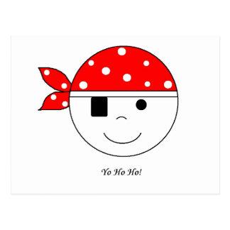 Pirate Yo-Ho-Ho! Postcard