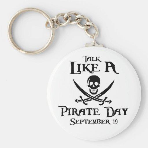 PirateDayKeyring1 Keychains