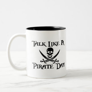 PirateDayMug Two-Tone Mug