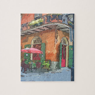 Pirates Alley New Orleans Jigsaw Puzzle