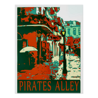 Pirates Alley Posters