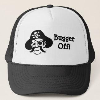 Pirate's Curse-Bugger Off! Trucker Hat